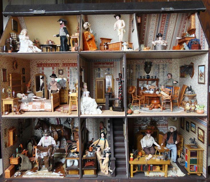 Dollhouse Miniatures Texas