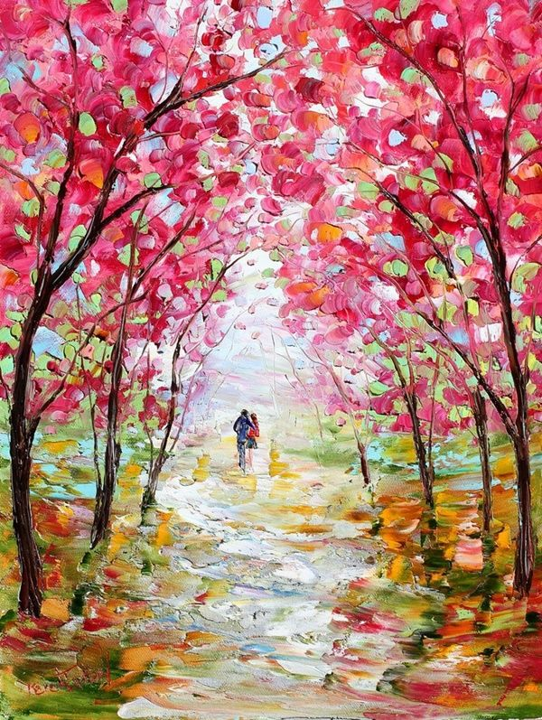 60 Easy And Simple Landscape Painting Ideas Landscape Paintings Beautiful Paintings Fine Art