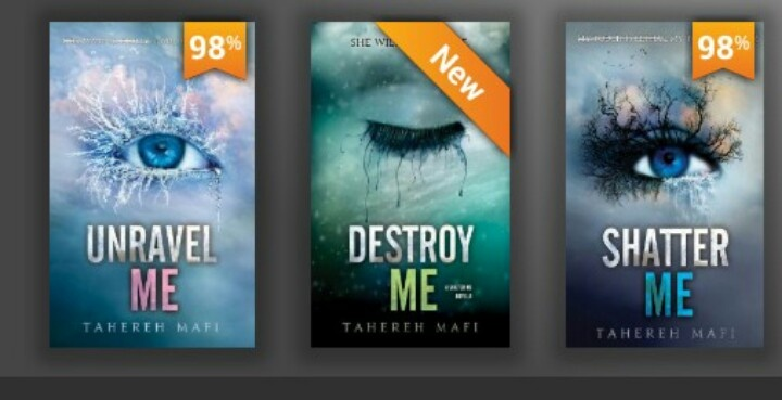 """Great books! """"Shatter Me"""" then """"Destroy Me"""" then """"Unravel Me"""". Now waiting for next one!"""