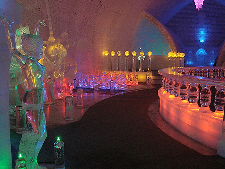Chena hot springs alaska ice hotel places ive been