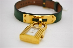 #Hermes Kelly Watch - Green