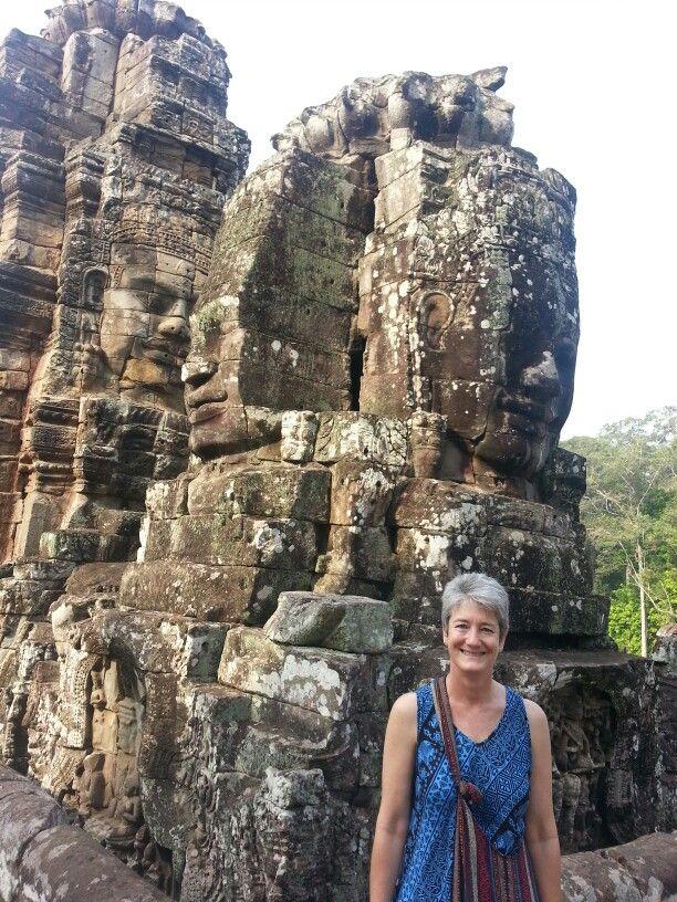Carina in Angkor wat