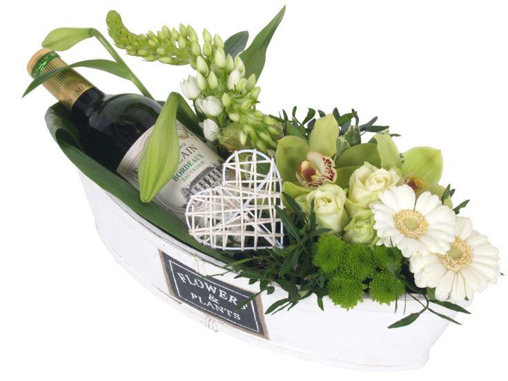 Een origineel Moederdag cadeau? Laat bloemen bezorgen met een fles wijn!