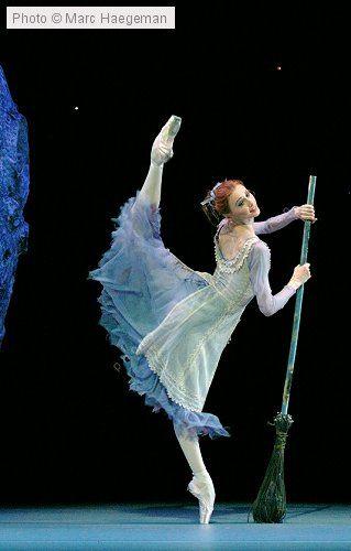 "Svetlana Zakharova (Cinderella) with Bolshoi Ballet in ""Cinderella"""