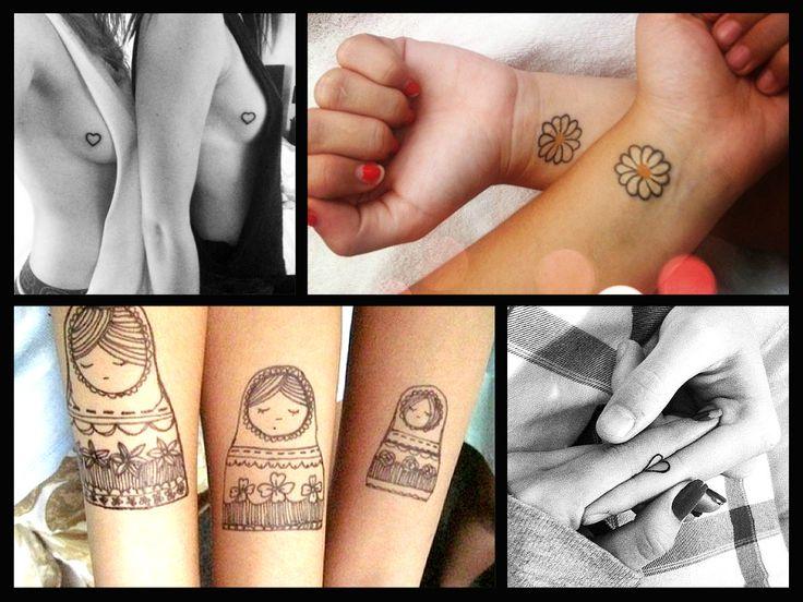 I tatuaggi tra sorelle o migliori amiche sono tra i tattoo più personali e importanti: questo simbolo d'affetto vi legherà per sempre, ecco qualche idea!