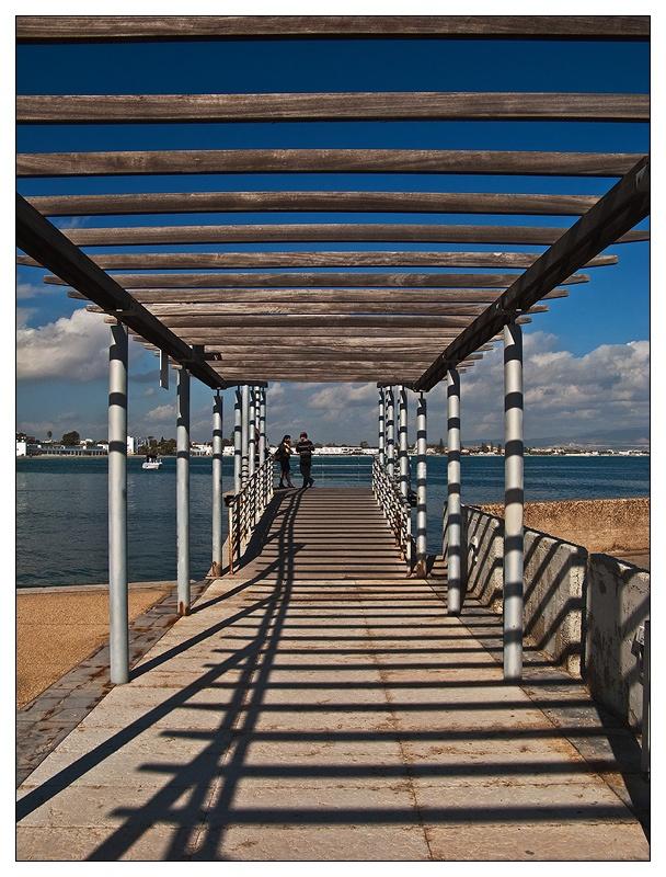 Cagliari. Poetto beach. Marina Piccola little harbour
