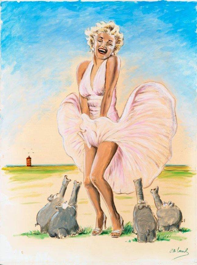 Otto Waalkes Zentralmanagement Walentowski Galerien Fineartpainting Art Fine Art Painting