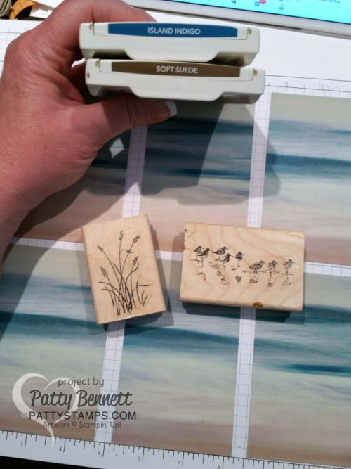 Serene Scenery Note Card Video Tutorial (Patty's Stamping Spot)