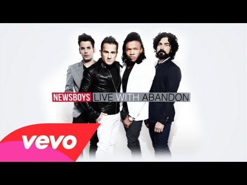"""Newsboys have a new album out this week on iTunes! Check out this lyric video for """"Live With Abandon"""""""