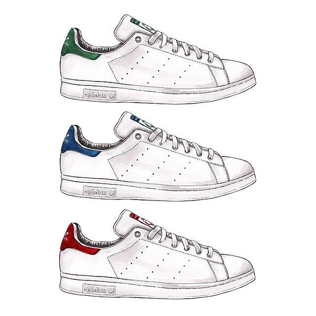 Feeling so inspired by @goodobjects feed - simplicity at it's best with the classic #stansmith #tsp #styleinspo