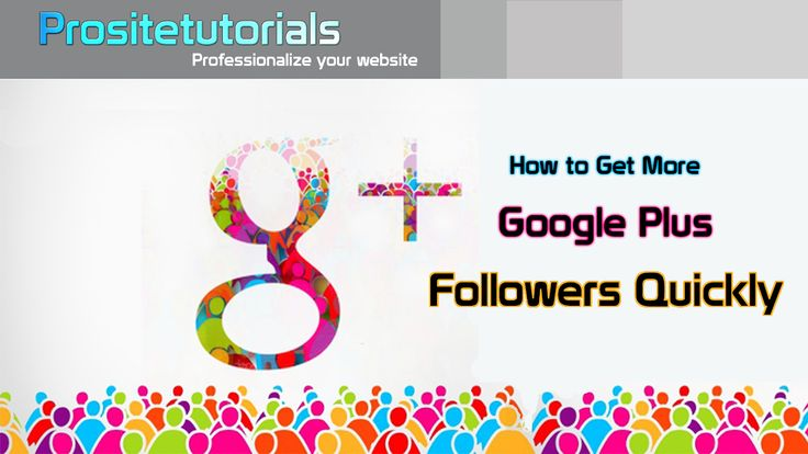 Another super easy technique that anyone can use to get massive amount of followers on G+. Click here to watch our video: https://www.youtube.com/watch?v=GxDIsELP39c