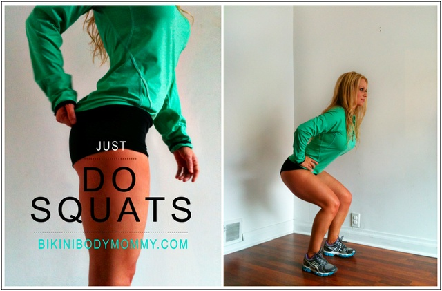 JUST DO SQUATS? | Bikini Body MommyBikini Body Mommy