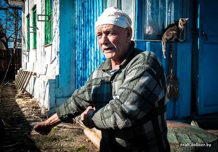 Chernobyl People Today | Evgeny Makarych had worked as a teacher before the catastrophe. His ...
