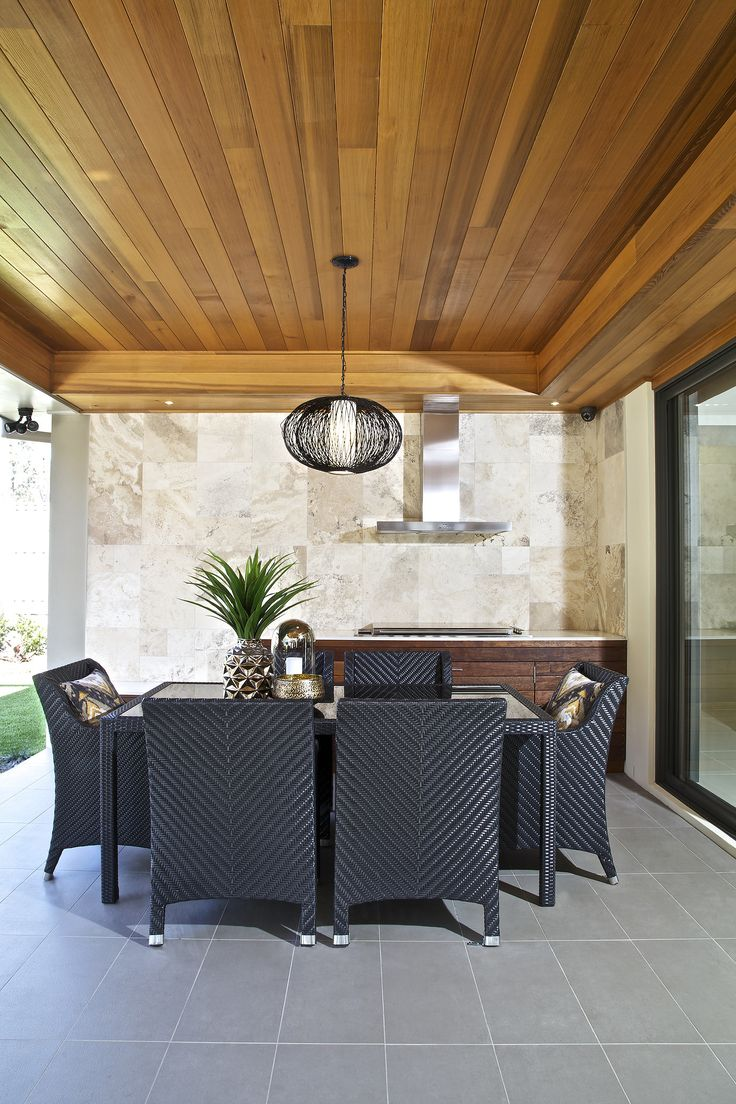 Clarendon Homes.  Killara 30.  Alfresco.
