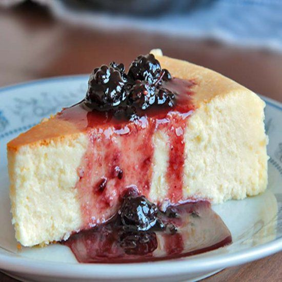 New York Style Cheesecake is creamy smooth, lightly sweet, with a touch of lemon.  My search for the perfect cheesecake ends here.
