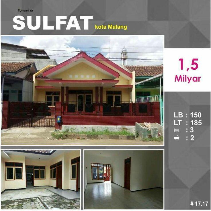 1,5 milyar Rumah di Sulfat kota Malang