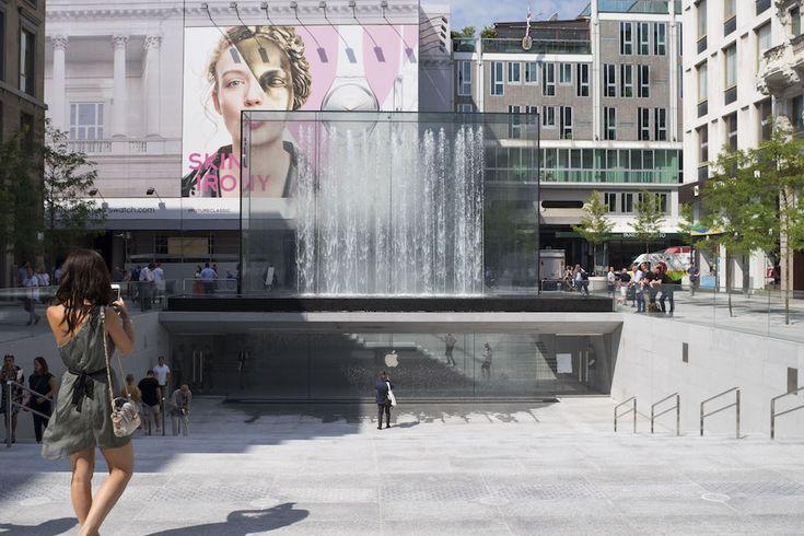 Le foto del nuovo Apple Store di Milano Foto, Milano