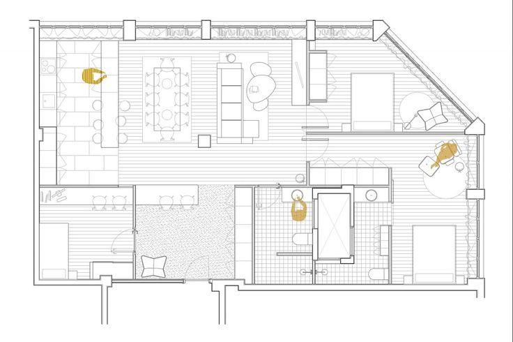 M s de 1000 ideas sobre plantas de oficina en pinterest for Cambio de uso de oficina a vivienda