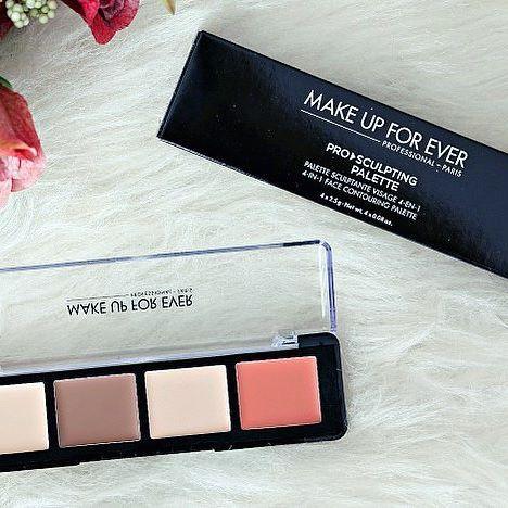 Tem resenha da nova paleta de contorno da @makeupforeverofficial no Blog (essa é a primeira resenha em Português sobre o produto) 👄 www.dieinpink.com ✨ #makeupforeverbrasil