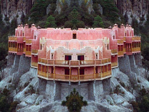 The Grand Sugar Pink Clifftop Hotel
