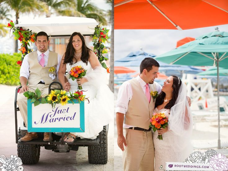 Krystal + Ben : Disney Cruise Line Wedding on Castaway Cay Part I