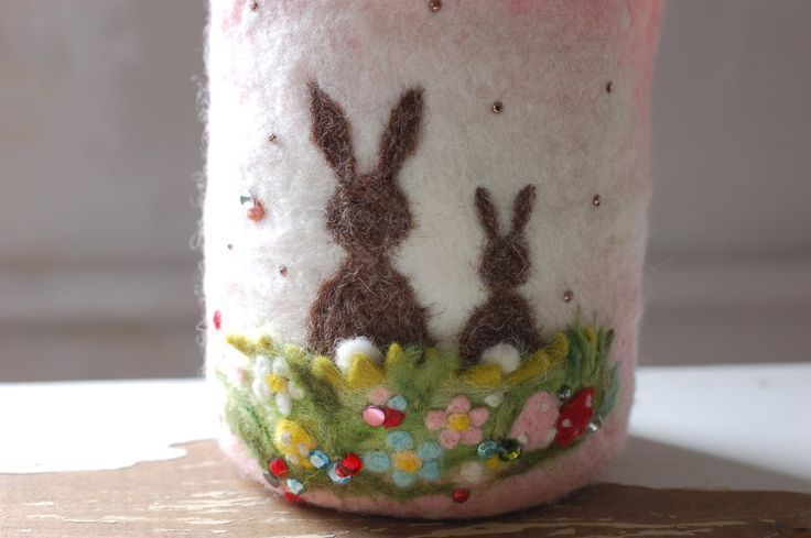 Easter Bunnies, Spring # Easter Decorating Easter Bunnies, Spring – Matted & ……