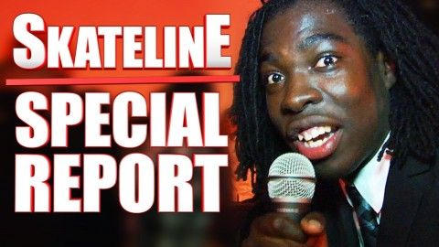 SKATELINE Special Report - Live From The LRG Premier LA with Miles Silvas, Tommy Sandoval... - http://DAILYSKATETUBE.COM/skateline-special-report-live-from-the-lrg-premier-la-with-miles-silvas-tommy-sandoval/ - We now have anchorman Gary Rogers reporting not-so-live from the LRG premiere. Keep up with Thrasher Magazine here:http://www.thrashermagazine.comhttp://www.facebook.com/thrashermagazinehttp://www.instagram.com/thrashermaghttp://www.twitter.com/thrashermag Source: - f