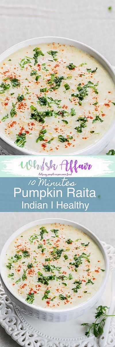 Kaddu Raita, Pumpkin Raita or Indian Pumpkin Yogurt Recipe is an easy to make accompaniment that goes very well with Indian meals. Recipe I Indian I cucumber I Vegetable I Pumpkin I Mint I Boondi I Onion I Pineapple I Beetroot I fruit I palak I Easy I For biryani I Salad I Carrot I Tomato I Dip I Pakistani I Aloo I Best I Mango I  via @WhiskAffair