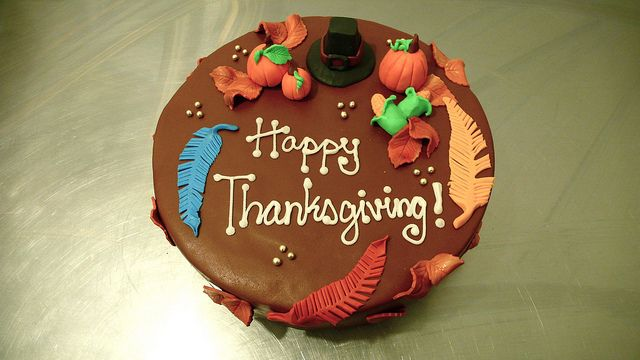 Thanksgiving Cake by CAKE Amsterdam - Cakes by ZOBOT, via Flickr