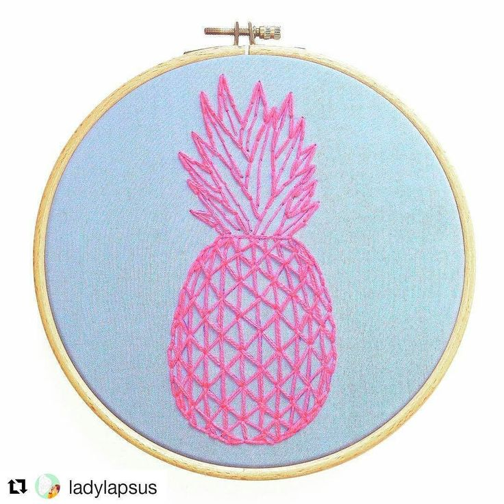 Cool pineapple yo! #regram @ladylapsus  204| Tutti Frutti #meinhood #embroidery #embroideryfloss #embroiderydesign #pineapple #thegermanmakers #fruit #thehandmadeparade #stitchery #stitching #stitchersofinstagram #hoopart #handmade #modernembroidery #ananas #vintage #germaninteriorbloggers #creativityfound #mrxstitch via The Mr X Stitch official Instagram  Share your stitchy 'grams with us - @mrxstitch #xstitchersofinstagram #mrxstitch