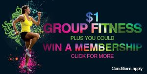 $1 GROUP FITNESS + YOUR CHANCE TO WIN A GYM MEMBERSHIP  Are you an active early bird or a night owl? Do you find yourself pottering around in the morning before work? Or are you finding the Simpsons re-runs are simply not cutting the mustard anymore, leaving you searching for some evening entertainment? If this sounds like you, then you need to get down to Northern Arena and join like-minded individuals.