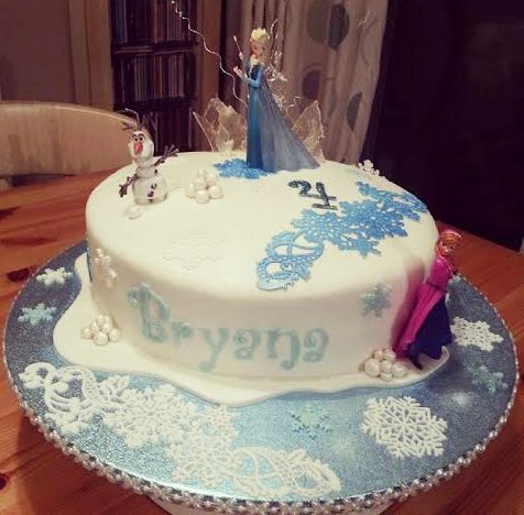 Edible Frozen Cake Decorations Tesco : The 38 best images about Edible Cake Lace on Pinterest ...