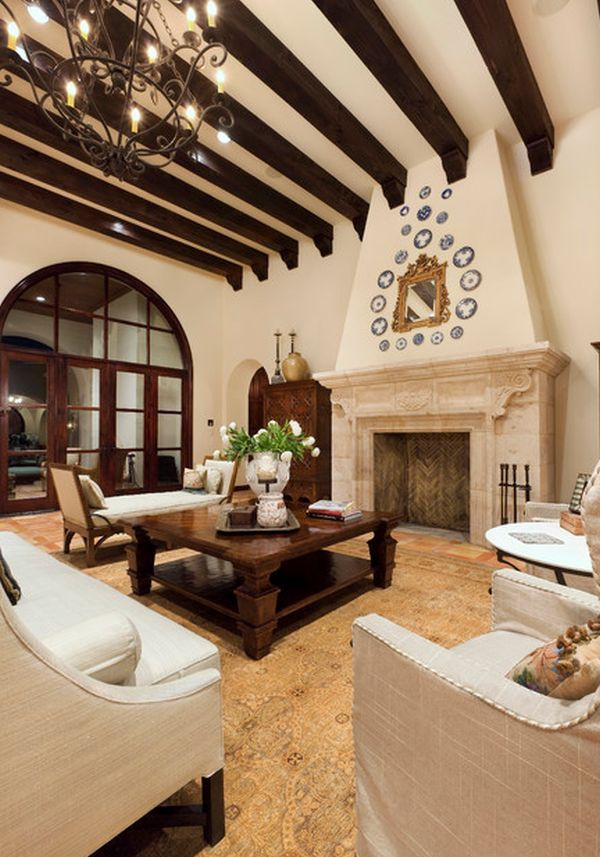 65 best Spanish Tuscan Mediterranean Interior Design images on