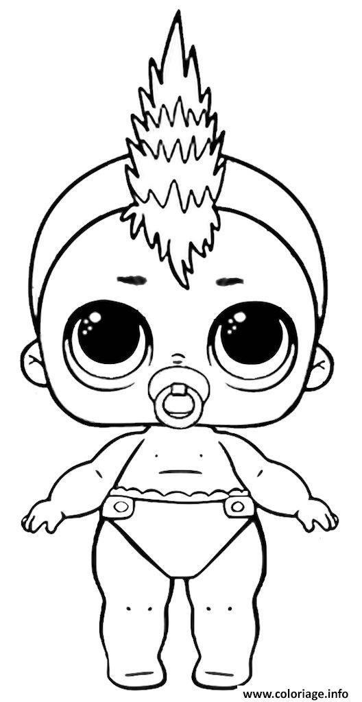Coloriage Poupee Lol A Imprimer Lil Punk à Imprimer Lol
