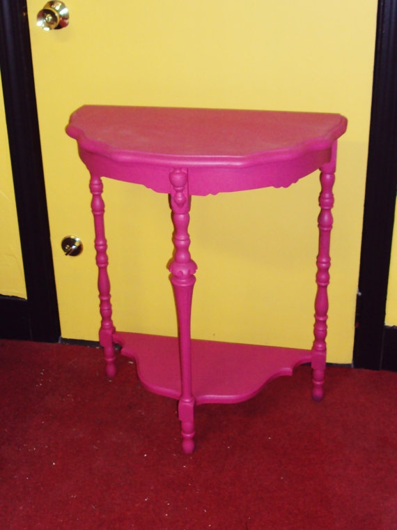 17 Best Images About Painted Side Half Tables On