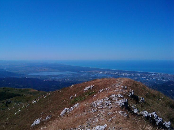 Monte Prana terrazzo sulla Versilia e lago di Massaciuccoli