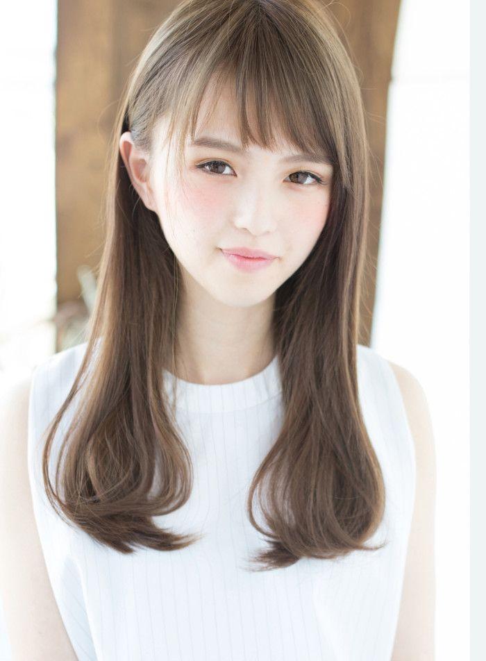 癖毛でもツヤさらストレート 縮毛矯正 髪型 ヘアスタイル ヘア