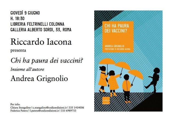 Per una bella intervista al dott. Grignolio  https://www.facebook.com/iovaccino/posts/1205491059474630:0