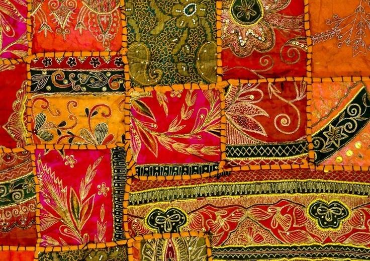 Les 25 meilleures id es concernant tissu indien sur for Set de table en tissus