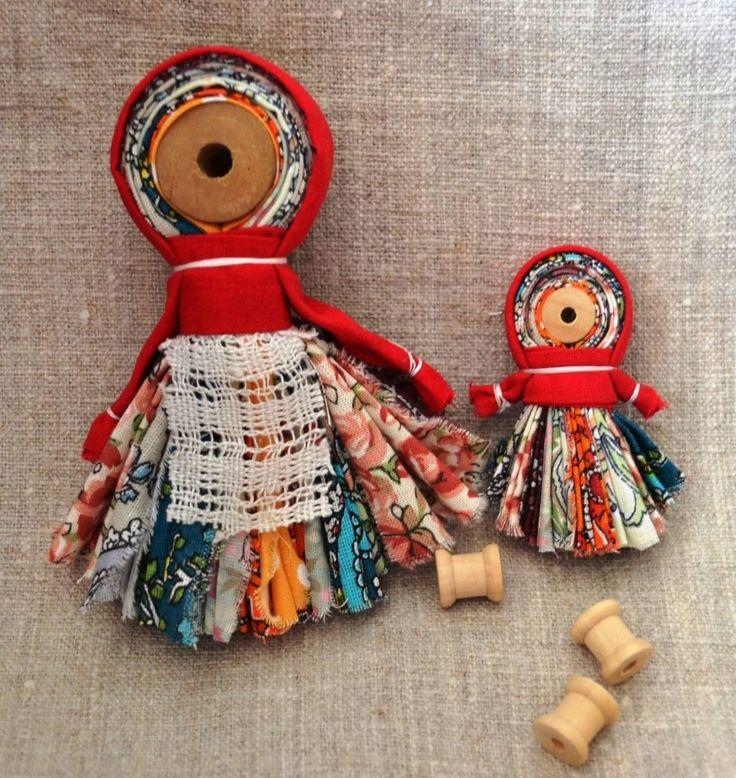 Кукла на катушке - Фестиваль лоскутного шитья в Суздале