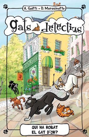 Gats Detectius, Alessandro Gatti\Davide Morosinotto #sortirambnens