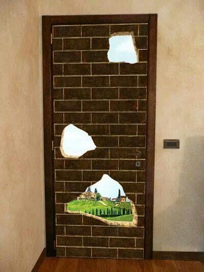 17 best images about trompe l oeil adesivi murali wall - Stickers escalier trompe l oeil ...
