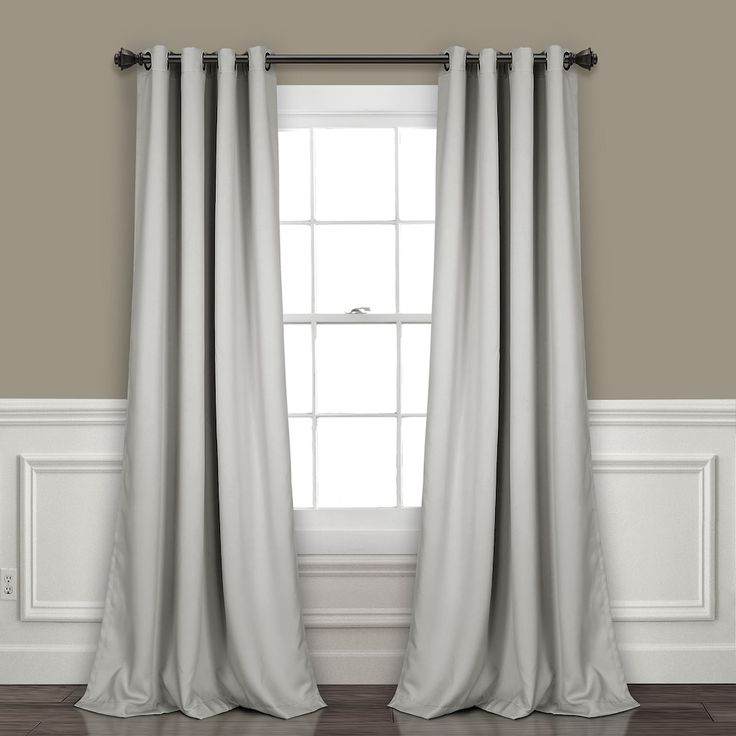 Lush Decor 2-pack Insulated Grommet Blackout Window