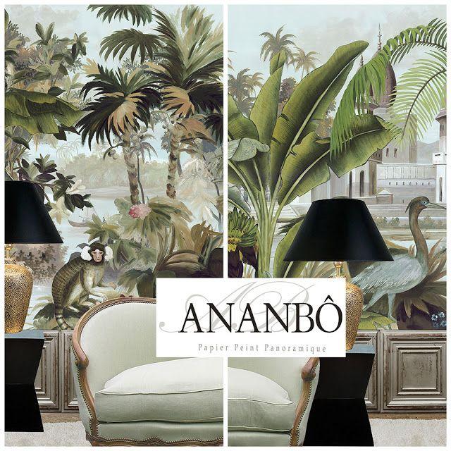 177 best images about papier peint panoramique on pinterest. Black Bedroom Furniture Sets. Home Design Ideas