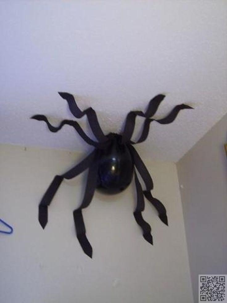 60 Balloon Spider 60 Ideas For A Harry Potter Theme Party Diy Theme Halloween Deko Halloween Deko Selber Machen Halloween Deko Ideen