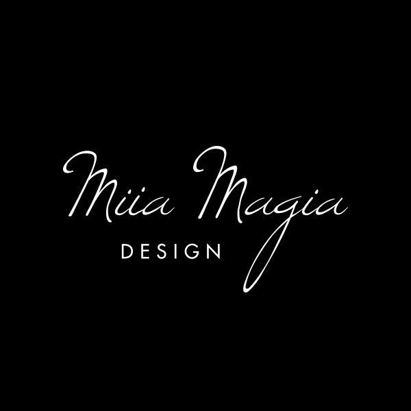 Miia Magia Design  www.miiamagia.com  #logo #miia #magia #design