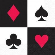 Place Your Bets Luncheon Napkins Pkt16 $8.95 A511227