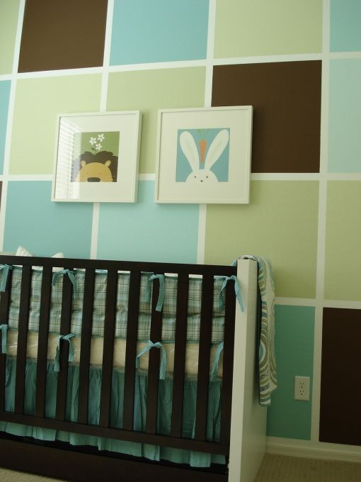 Another Cute Paint Job For An Accent Wall Maybe Shades Of Pink Also On This Post Are Some Cute