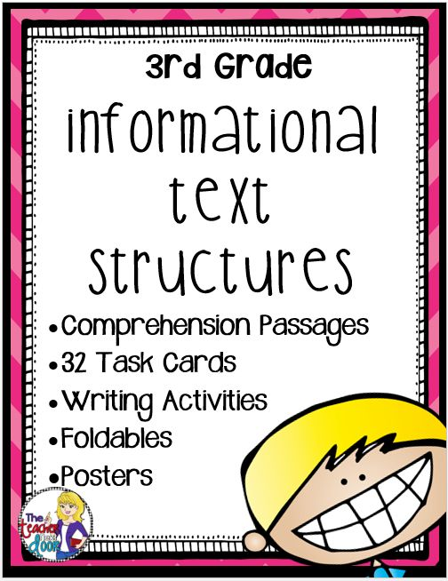 Ok...I have to admit it...I am a sucker for informational text. Maybe it's the geeky want-to-know-it-all side of me, but when I found out that Common Core upped the percentage of informational text to 50% (compared to 50% fiction), I did a silent cheer! Informational Text Structures is really fun...