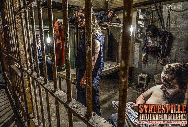 Contraband Photos & Video : Statesville Haunted Prison<sup>®</sup> and City of the Dead Haunted Attraction in Crest Hill, Haunted House, Just Outside of Chicago, Illinois IL